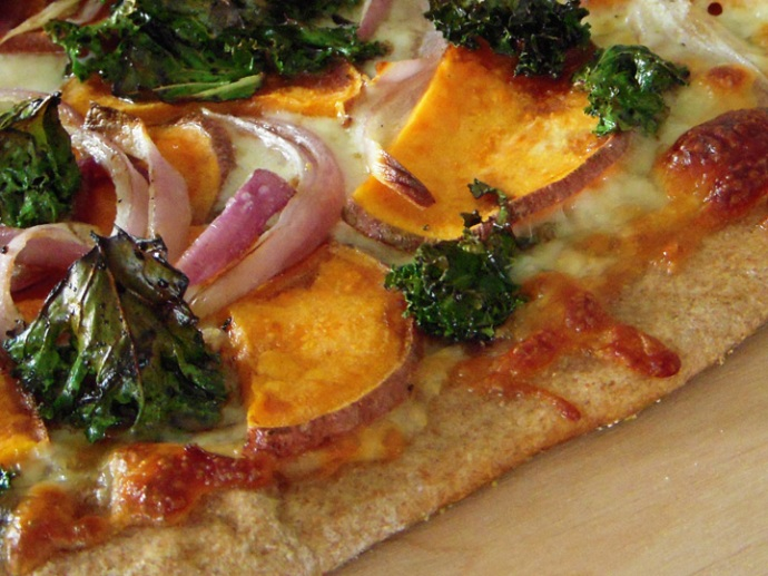 Pizza AND instant kale chips!