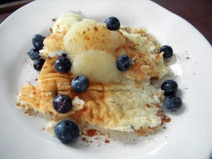 Natalie Hodson Blueberry Protein Pancakes