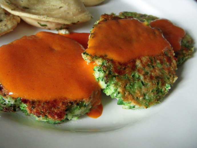 CE Fish Fritters with Sauce