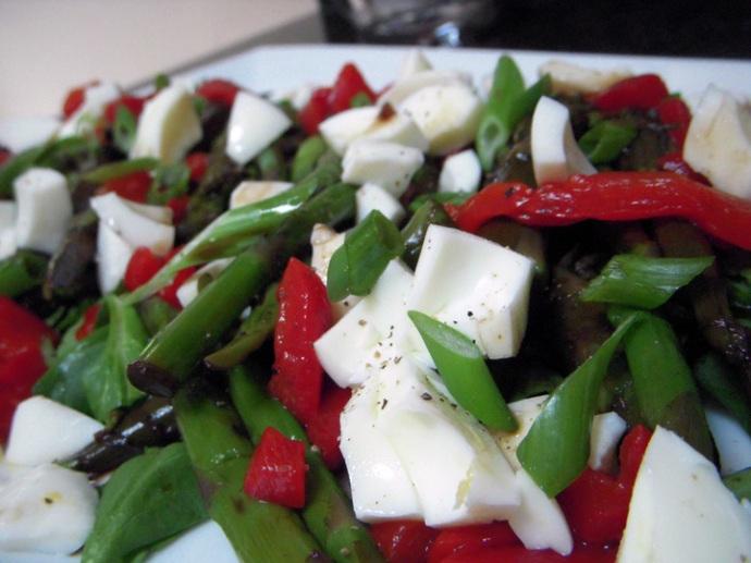 Asparagus Salad Detail