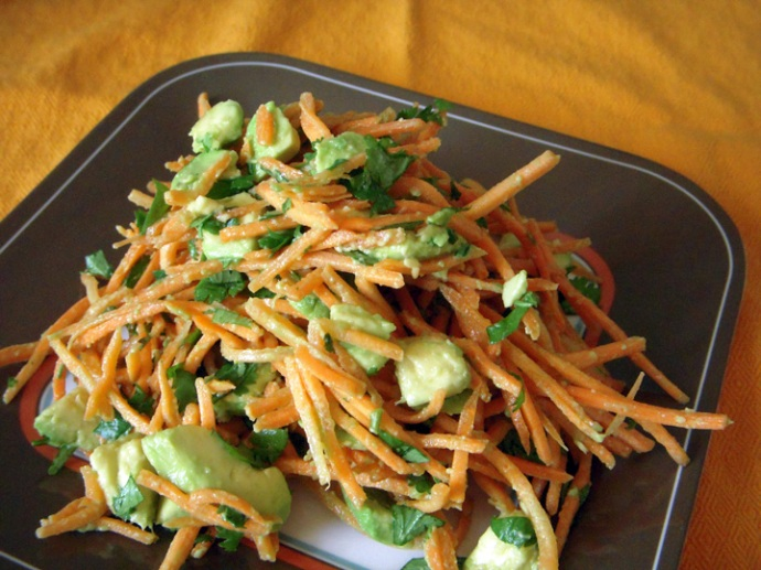 Avocado-Carrot Salad