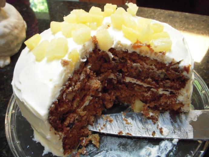 Carrot Cake Detail