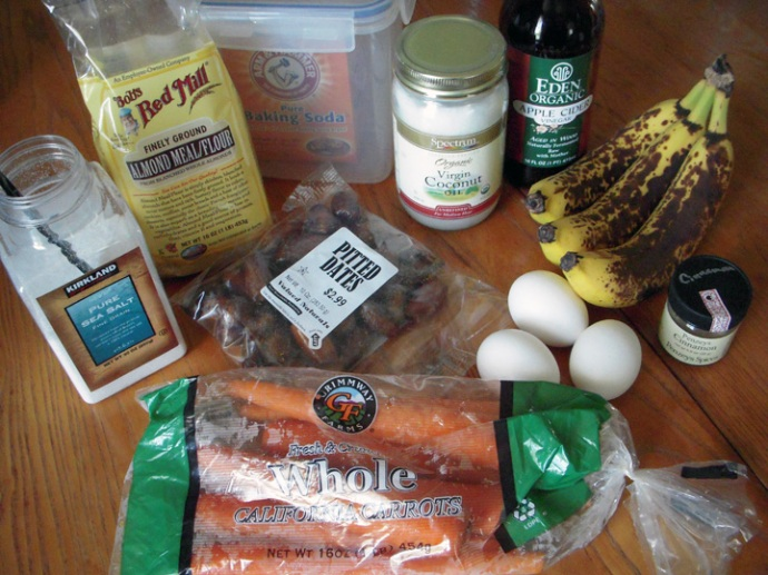 Paleo Muffin Ingredients
