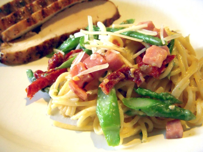 Clean Eating Spaghetti Carbonara