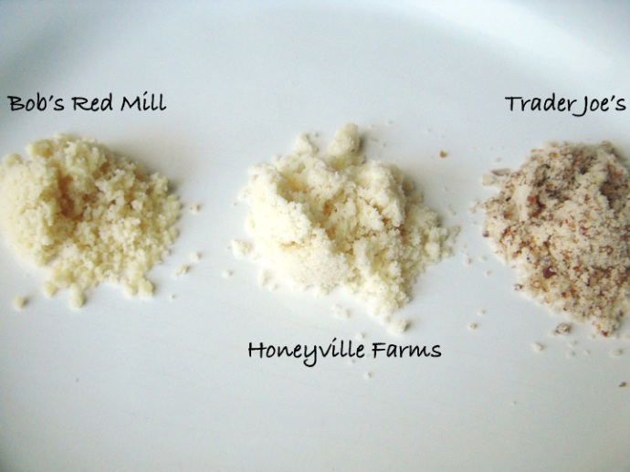 Almond Flour Comparison