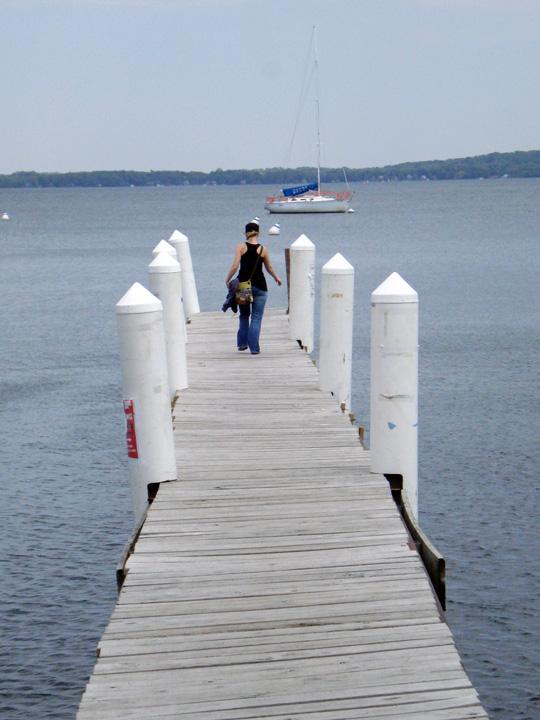Pier on Lake Mendota