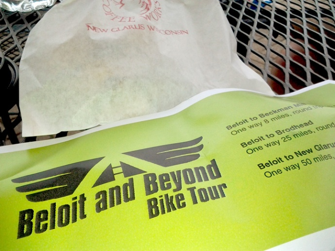 Beloit and Beyond Map and Fat Cat Scone