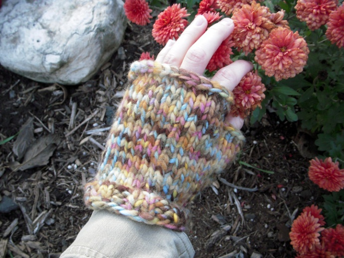 Fingerless Mitts Top