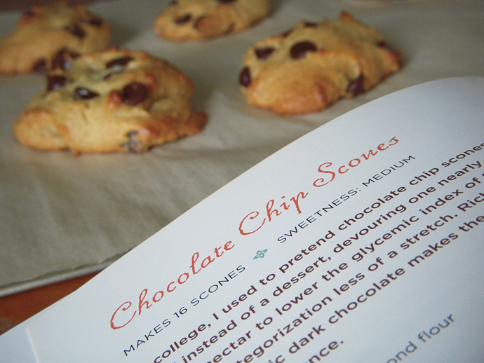Elana's Pantry Chocolate Chip Scones