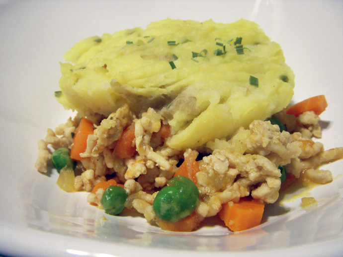 Clean Eating Shepherds Pie