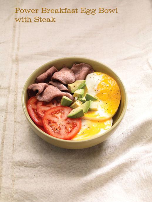 Panera Hidden Menu Power Breakfast Egg Bowl with Steak