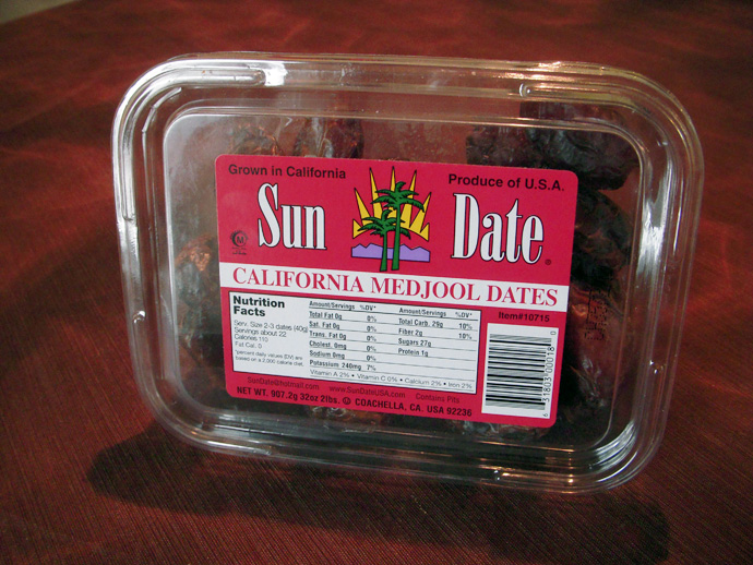 Medjool Dates from Costco
