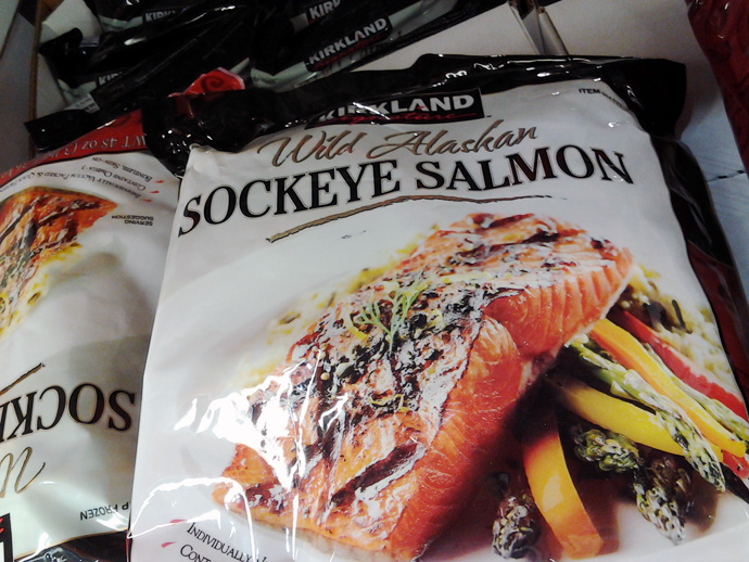 Costco Sockeye Salmon