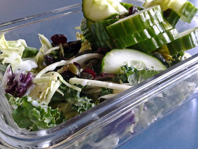WIAW Kale Salad