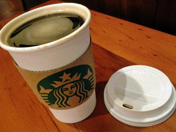 WIAW Starbucks Americano